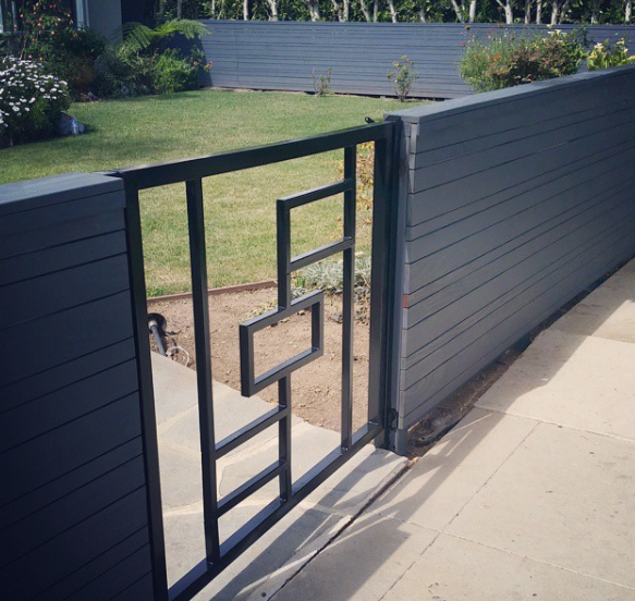 Steel+Gate+-+Custom+Welding+Santa+Clara