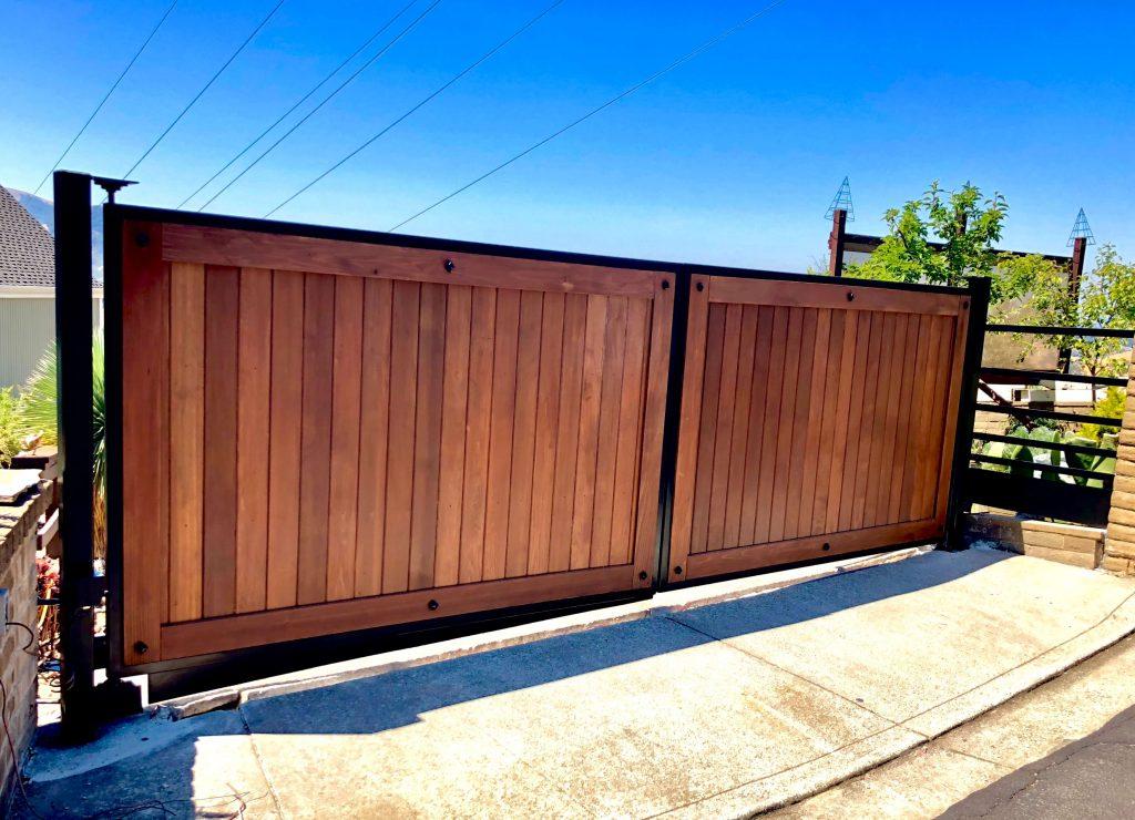 Dual Swing Automatic Gate in Alamo CA (1)