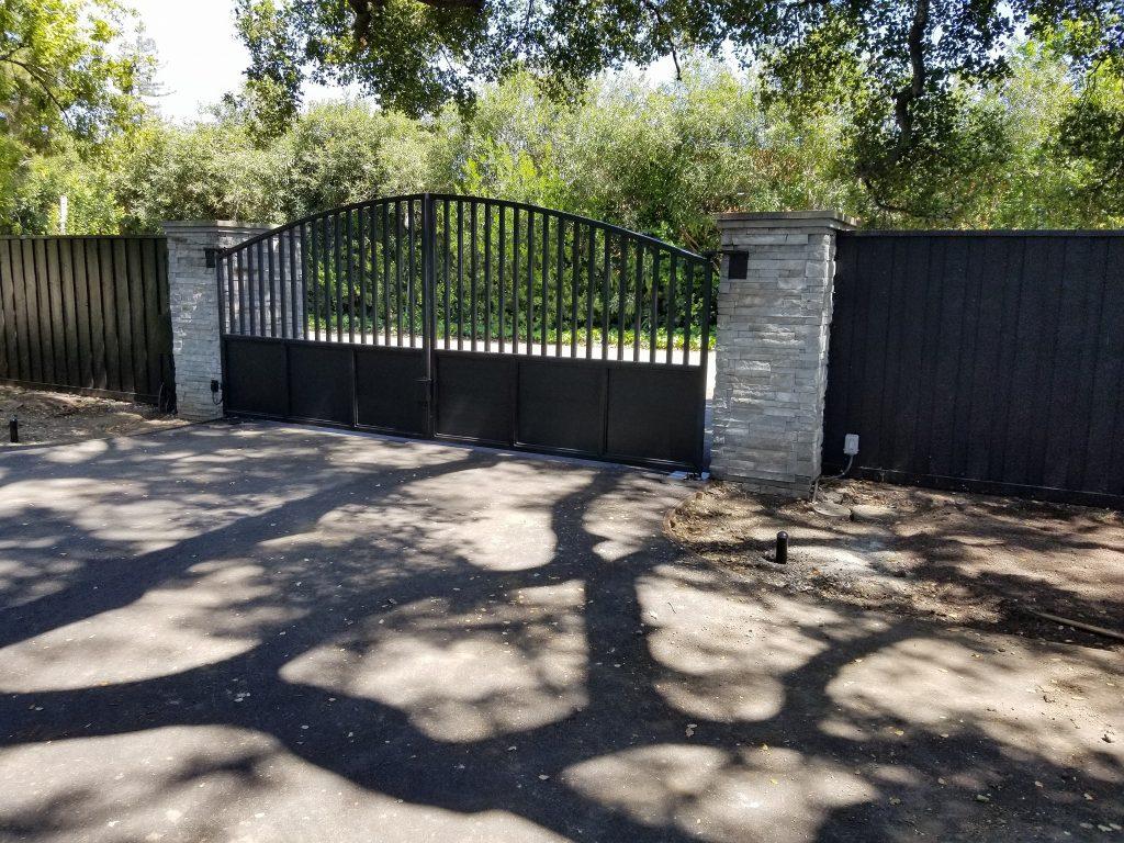 dual_swing_iron_gate_Morgan_hill